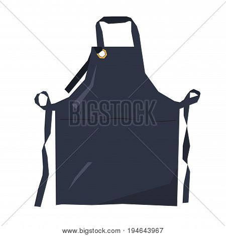 Isolated geometric apron on a white background, Vector illustration