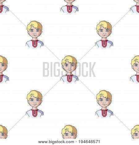 Russian.Human race single icon in cartoon style vector symbol stock illustration .