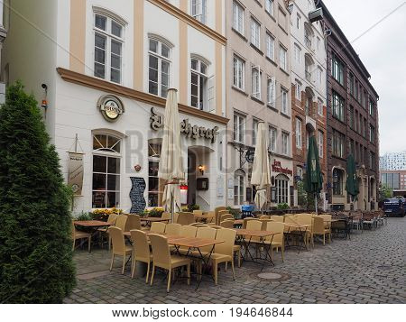 View Of The City Of Hamburg