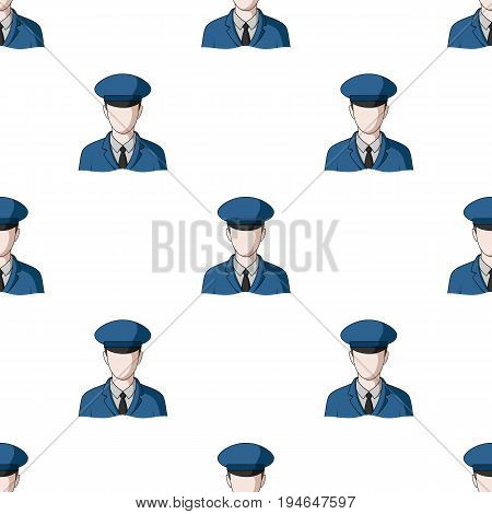 Postman.Mail and postman pattern icon in cartoon style vector symbol stock illustration .