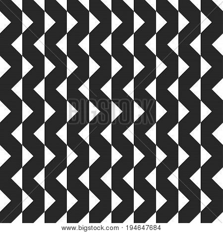 Retro memphis geometric shapes seamless abstract patterns. Hipster fashion 80-90s. Jumble textures. Black and white. Triangle. Memphis style for printing, website, fabric design, poster, cards