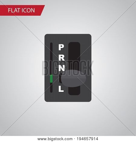 Isolated Carrying Flat Icon. Automatic Transmission Vector Element Can Be Used For Automatic, Transmission, Carrying Design Concept.