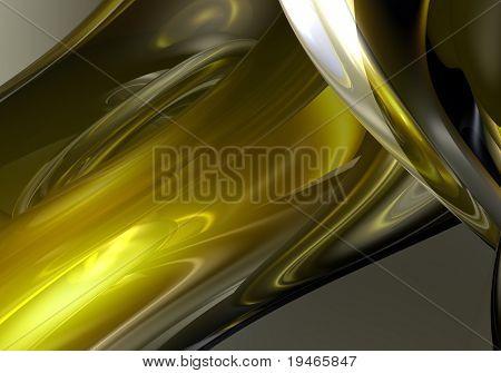 liquid yellow metall 05