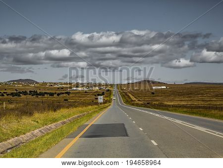 Landscape Of The Eastern Cape Of South Africa