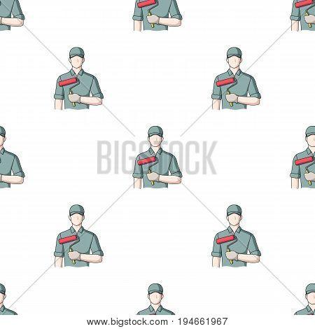 Painter.Professions single icon in cartoon style vector symbol stock illustration .
