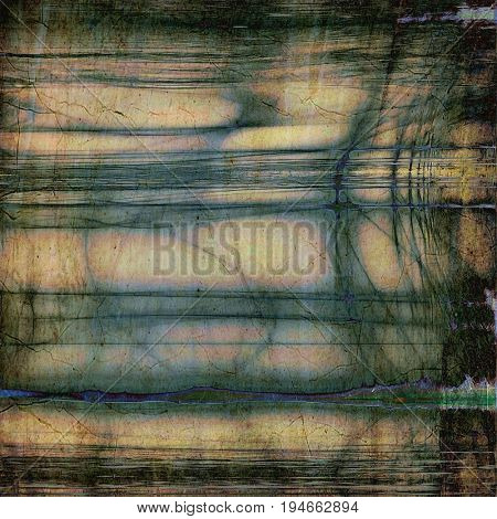Abstract old background or faded grunge texture. With different color patterns: yellow (beige); brown; gray; green; blue; black