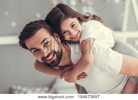 Dad And Daughter