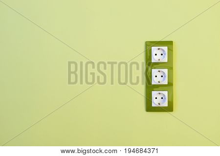 Euro Green Electric Sockets