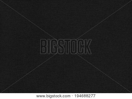 Black Paper Corrugated Texture Background.