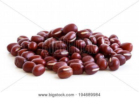 Heap Of Dry Adzuki Beans
