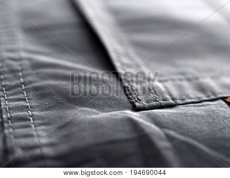 Jeans Background With Seams