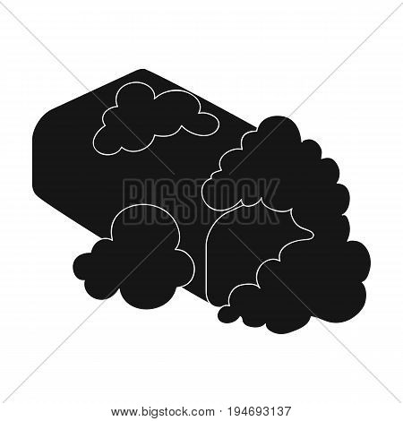 Washing soap. Dry cleaning single icon in black style vector symbol stock illustration .