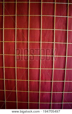 Wood Texture With Checked Patterns