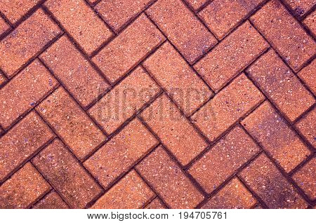 Block Paving Background with copy space for design