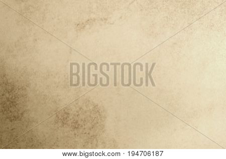 Mottled Beige Grunge Background with copy space