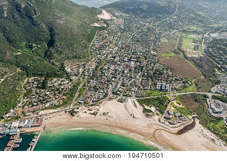 Hout Bay (cape Town, South Africa) Aerial View