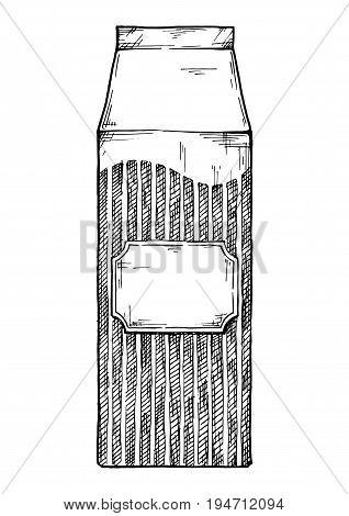 Illustration Of Retro Packaging