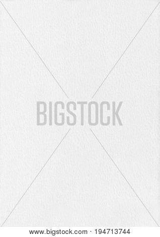 Dapple White Paper Corrugated Texture Background.
