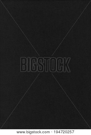 Gravure Black Paper Corrugated Texture Background.