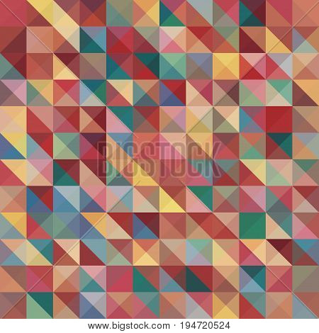Abstract background with colorful pyramids shape, stock vector