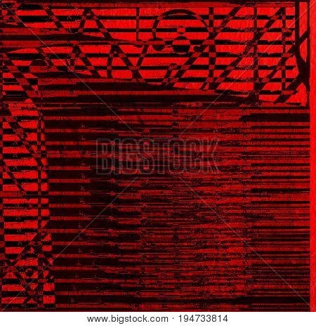 Abstract, abstract background. Red black background. Abstract pattern. Red. Black. Background. Surreal background.Striped background.