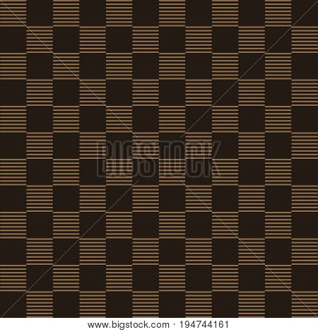 Seamless Background Brown Check Cross Geometry Line