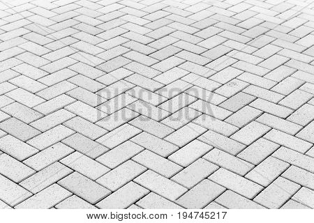Concrete block paving for walkway, Abstract background