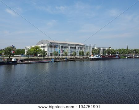 Music And Congress Hall In Luebeck