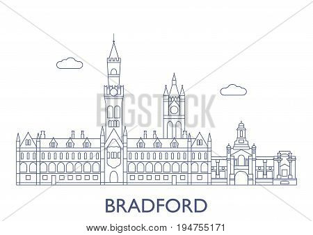 Bradford. The Most Famous Buildings Of The City