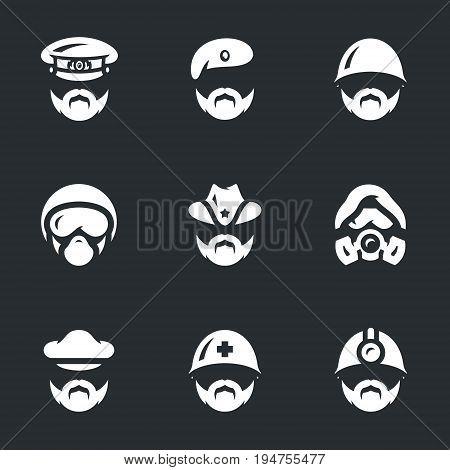 General, paratrooper, infantryman, pilot, ranger, chemical troops, captain, medic, engineer.