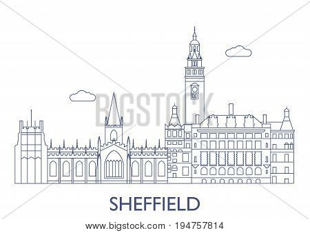 Sheffield, The Most Famous Buildings Of The City
