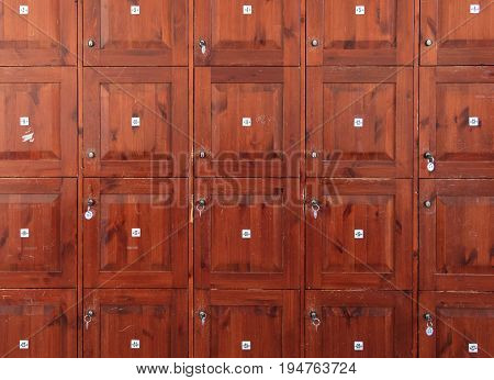 Old Cabinet Lockers