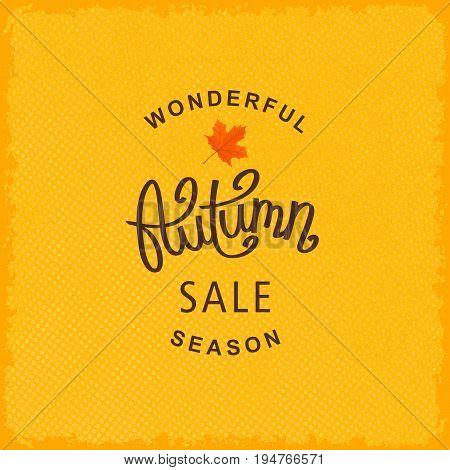 Wonderful Autumn Season Sale