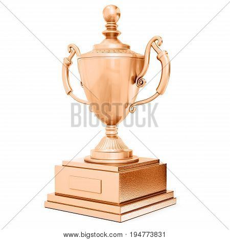 Champion Bronze Trophy Cup