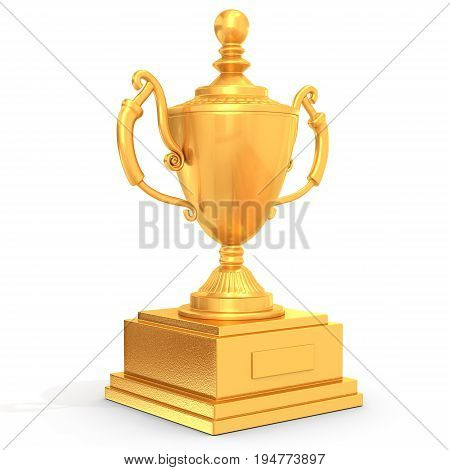 Champion Golden Trophy Cup