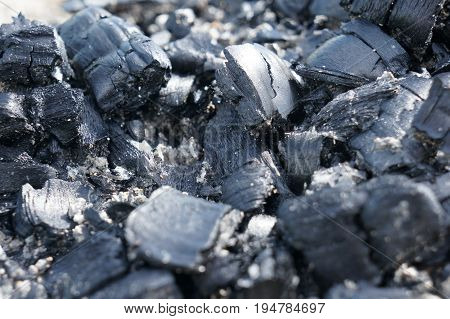 Brilliant Black Coal For A Fire Or Cooking Barbecue Or As A Fuel