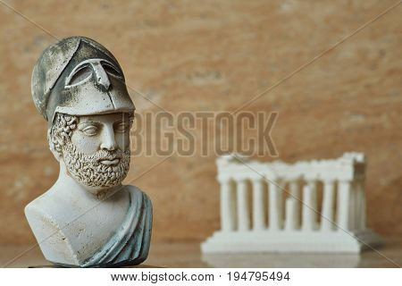 Statue of the ancient Athens statesman Pericles.