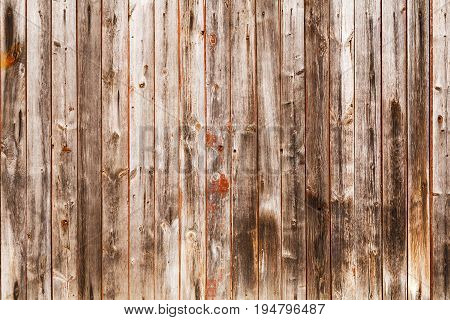 The texture of unpainted old boards for use as background