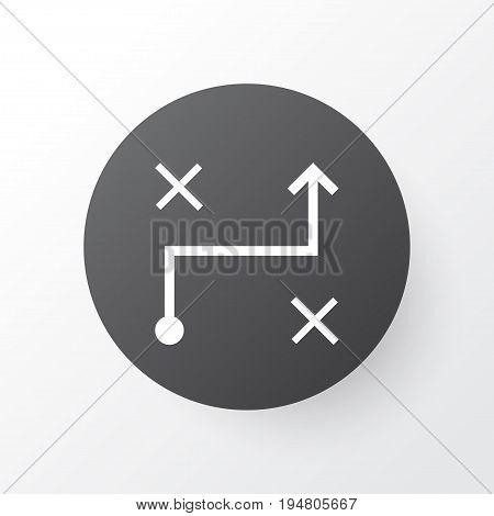Algorithm Icon Symbol. Premium Quality Isolated Solution Element In Trendy Style.
