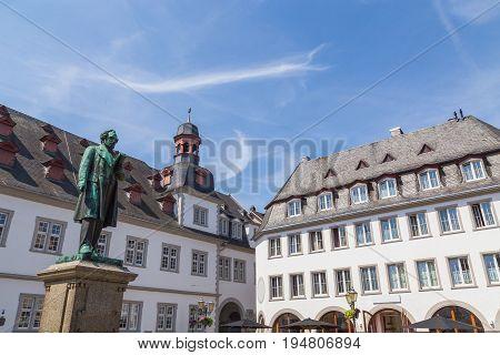 Jesuitenplatz in Koblenz Rhineland-Palatinate Germany summer picture