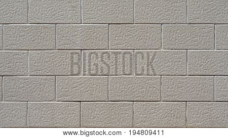 Closeup High Resolution of Modular Brick Look Tiles
