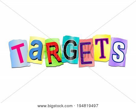 Targets Word Concept.