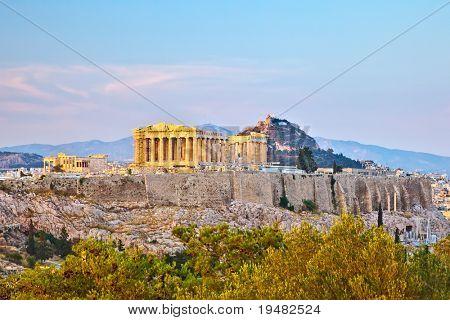 View on Acropolis, Athens, Greece