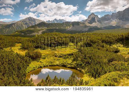 mountains landscape Tatra Mountains national park, Poland