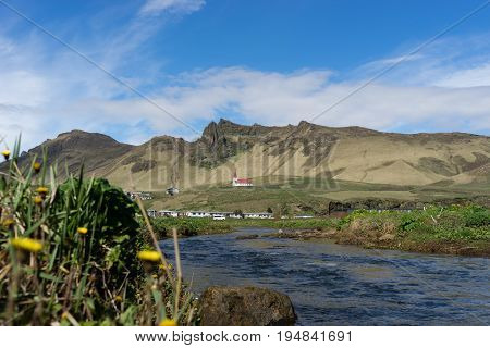 Vík has been a trading post since 1887. The natural surroundings in Vik are quite beautiful and the climate is relatively mild