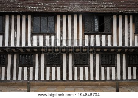 Part of King Edward VI Grammar School where William Shakespeare studied