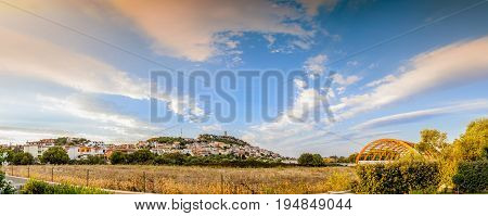 Panorama Of The Medieval Village Posada