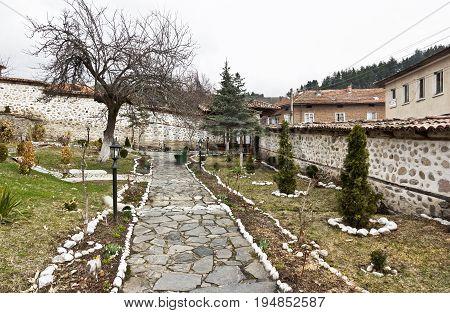 Medieval church of St. Theodore Tyron , Dobarsko village, Blagoevgrad region, Bulgaria