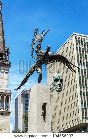 Bolivar Condor Statue