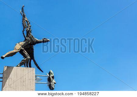Bolivar Condor And Sky